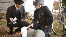 "A scene from an episode of the 2011 season of ""Murdoch Mysteries"" (handout)"