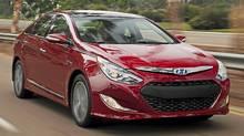 2011 Hyundai Sonata Hybrid. (Hyundai)