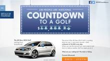 Volkswagen Canada has launched the 2015 Golf and Golf GTI in a unique fashion (Volkswagen)