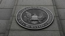 The Securities and Exchange Commission headquarters in Washington. The SEC is considering forcing money market funds to float their net asset values, like other mutual funds do. (AP)