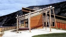 Image from Modern North of the Tr'ondek Hwech'in Cultural Centre in Dawson City, Yukon, designed by Kobayashi + Zedda Architects.