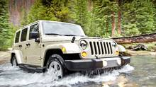 2011 Jeep Wrangler Unlimited Rubicon (AJ Mueller/Chrysler)