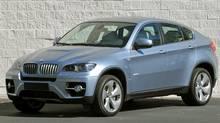 2010 BMW X6 ActiveHybrid (BMW)