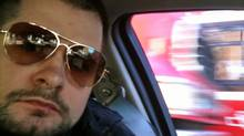 Toronto Police Constable James Forcillo , shown in this photo from a cancer charity fundraising page, has been identified as the officer involved in the shooting of Sammy Yatim.
