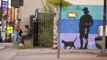London's Dundas Street East, seen here August, 18, 2010, is trying to revitalize itself but still struggles with a drug culture. (Geoff Robins/The Globe and Mail/Geoff Robins/The Globe and Mail)