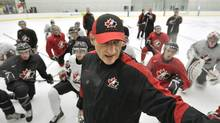 Don Hay as head coach of Canada's world junior hockey team in 2012 (Nathan Denette/The Canadian Press)