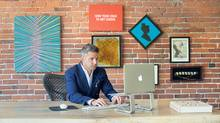 Todd Towers of Farmboy Fine Arts is one of many entrepreneurs who are growing their business by targeting international markets. (SUPPLIED)