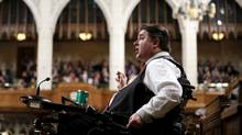 Veterans Affairs Minister Kent Hehr says his department has taken steps to improve early intervention and to ease transition out of the military for veterans with operational stress injuries but must 'continue to do better.' (CHRIS WATTIE/REUTERS)