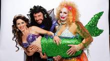 The Little Mermaid's Chilina Kennedy, Ross Petty and Dan Chameroy.