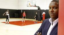 Raptors General Manager Masai Ujiri photographed at the Raptors Practice Court at the Air Canada Centre in Toronto, September 04 2013. (Fernando Morales/The Globe and Mail)