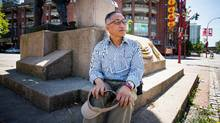Godfrey Tang, a 73-year-old Vancouver resident who lives in Chinatown and has joined the opposition to its development, says it's 'not correct to build expensive condos there.' (Ben Nelms/The Globe and Mail)