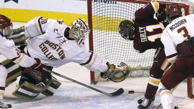 NCAA: Thatcher Demko Not Worried About Silence From Vancouver Canucks
