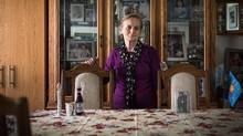 Stefania Sitbon, seen in her Toronto home, was one of hundreds of people who found safe refuge in a zoo – depicted in The Zookeeper's Wife – during the German occupation of Warsaw. (Aaron Vincent Elkaim/The Canadian Press)