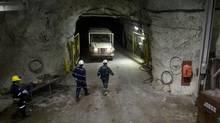 Cameco McArthur River uranium mine site in northern Saskatchewan. (Dave Stobbe/REUTERS)