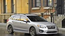 2012 Subaru Impreza 2.0i hatch. (Subaru)