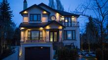 This brand new house on 6768 Arbutus St., in Kerrisdale, was designed specifically for the Asian market, according to the developer of this house. List price is $6.88-million, lot size is 12,800 sq. ft., house (not including garage) is 6,800 sq. ft. It also has a gold toilet. (John Lehmann/The Globe and Mail)