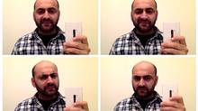 The author, Navneet Alang, does a selfie photobooth (Navneet Alang)