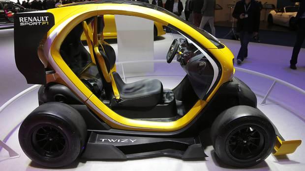Renault Twizy Sport F1 (Frank Augstein/AP Photo)
