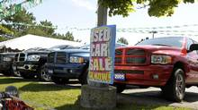 Currently, there's demand for SUVs and light trucks, so they're keeping their value better than compacts, says Brian Murphy, Canadian Black Book vice-president of research and editorial. (Tibor Kolley/The Globe and Mail)