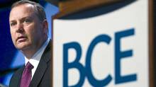 President and CEO of Bell Canada Enterprises (BCE) George Cope looks on before the annual general meeting in Toronto on Thursday, May 7, 2009.