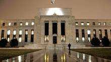 The Federal Reserve Building on Constitution Avenue in Washington on March 27, 2009. (J. Scott Applewhite/The Associated Press)