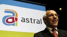 Astral Media Inc.'s President and CEO Ian Greenberg poses before the company's annual shareholders meeting in Montreal, December 9, 2010. (SHAUN BEST/Reuters)