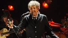 Bob Dylan performs in Los Angeles in January, 2012. (CHRIS PIZZELLO/ASSOCIATED PRESS)