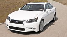 2013 Lexus GS 450h Hybrid (Toyota/Toyota)