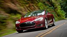 All-electric Tesla Model S. (Tesla)