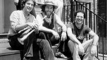 Del Dako, top right, is seen with the Curtis String Quartet in 1978. (Steve Patriquen/The Globe and Mail)