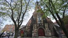 Exterior photos taken April 20, 2012, of St. Stephen-In-The-Fields, an Anglican church located at 103 Bellevue Avenue in Toronto. (Fred Lum/The Globe and Mail)