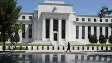 The U.S. Federal Reserve building in Washington. (JIM YOUNG/JIM YOUNG/REUTERS)