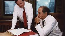 Pierre Trudeau was so impressed by Jim Coutts that he pegged him to be the next leader of the country, former senator Jerry Grafstein said. Jim Coutts and Pierre Trudeau go over notes in a 1981 file photo. Liberal leader Justin Trudeau says Coutts, a former adviser to prime ministers Lester Pearson and Pierre Trudeau, has died at age 75. THE CANADIAN PRESS/CP (THE CANADIAN PRESS)