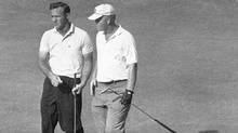 Jack Nicklaus defeats Arnold Palmer in playoff to win 1962 U.S. Open (AP1962)