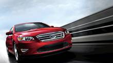 2011 Ford Taurus SHO: The Taurus SHO version of Ford's flagship sedan offers premium performance and fuel economy with the 3.5-liter EcoBoost V-6. (Ford)