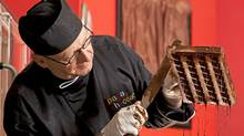 Calgary chocolatier Bernard Callebaut has started a new business, Papa Chocolat, after his former business, Chocolaterie Bernard Callebaut, fell into receivership and its assets were sold to a group headed by a former employee. (CHRIS BOLIN FOR THE GLOBE AND)