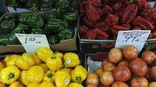 Rising food costs have become a major concern for Canadians, a new RBC report says. (Fred Lum/Fred Lum/The Globe and Mail)