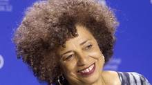 Professor and political activist Angela Davis attends a news conference to promote the film Free Angela & All Political Prisoners during the 37th Toronto International Film Festival, September 10, 2012. (Fred Thornhill/Reuters)