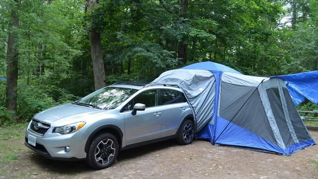 Don T Like Camping Do It Without Leaving The Car The