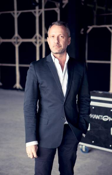 The man with the plan: Jarrad Clark, IMG's director of global production, shown here at the site of Istanbul Fashion Week, presides over the brand's fashion events worldwide. For Clark, shortening Toronto's scattered fashion calendar is at the heart of the company's strategy for strengthening the event. '[It's about] making sure that designers have the ability to show with us onsite at any one of our locations, but also to show on location anywhere around the city that may be triggering their creativity,' as long as it's during the same week.