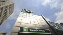 TD Canada Trust bank at Yonge and Eglinton, Toronto. August 27, 2013. (Gloria Nieto/The Globe and Mail)