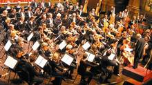 The Vancouver Symphony Orchestra in performance