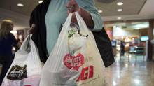 Montreal's plan to ban plastic bags is one that might also be adopted by the 80-odd communities representing the Greater Montreal area. (Ryan Remiorz/THE CANADIAN PRESS)