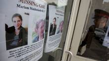 Toronto Police attended two assemblies at Forest Hill Secondary School in Toronto in 2009 to make an appeal to the student body for any information they may have regarding the disappearance of Mariam Makhniashvili, 17. (Peter Power / The Globe and Mail/Peter Power / The Globe and Mail)