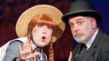 Tess Benger and Kristian Truelsen in the Charlottetown production of Anne of Green Gables. (Handout)