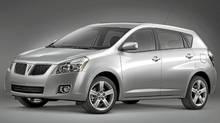 2009 Pontiac Vibe. (General Motors)