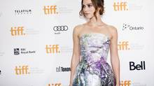 Keira Knightley during the 2013 Toronto International Film Festival. TIFF has announced she is on the expected guest list this year. (Michelle Siu/THE CANADIAN PRESS)