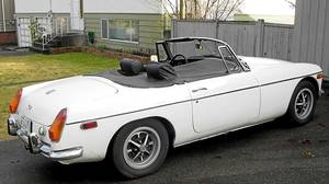 The MGB is a tough and surprisingly comfortable two-seater.
