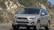 The Mitsubishi RVR is a nice vehicle but it doesn't stand out from the stiff competition it faces in the small SUV and crossover market. (Mitsubishi)
