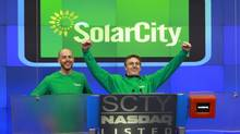 Since it went public in December, SolarCity has more than doubled the issue price, to $18. (Mark Von Holden/The Associated Press)